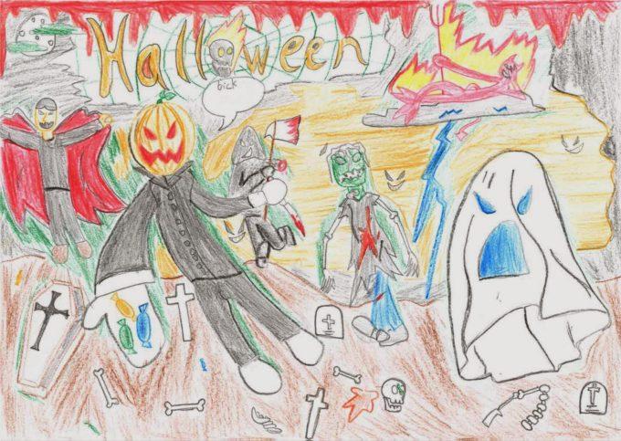 Jaime Dibujo Halloween