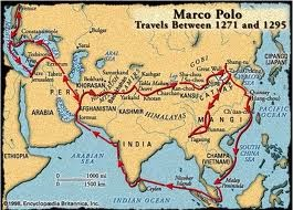 Mapa Marco Polo