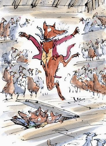 Mr fox and chickens