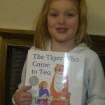 Julia y tigre