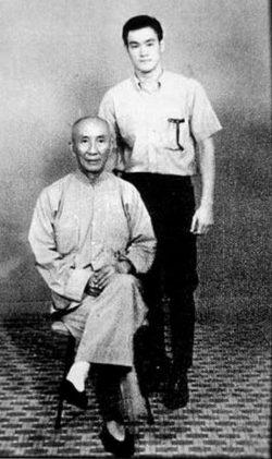 Bruce Lee e Ip man