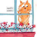 El rey de la casa gato ventana