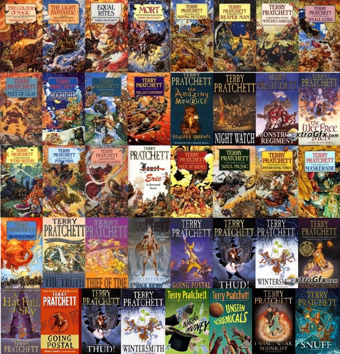 Discworld colección libros