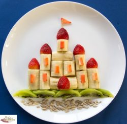 Castillo de frutas