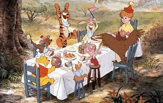 Winnie the Pooh picnic